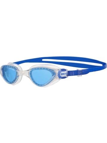 """Arena Okulary """"Cruiser Soft"""" w kolorze niebieskim do pływania"""