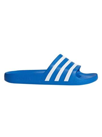 Adidas Badeschuhe in Blau