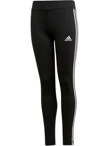 "Adidas Trainingslegging ""3 Stripes"" zwart"