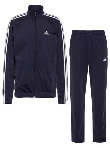 Adidas 2-delig trainingspak donkerblauw