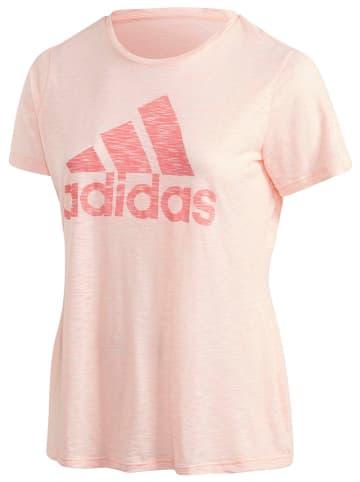 "Adidas Performance Trainingsshirt ""Plus Size"" in Rosa"