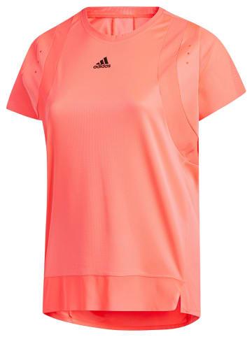 """Adidas Koszulka sportowa """"Plus Size"""" w kolorze pomarańczowym"""