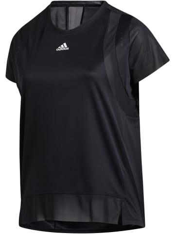 """Adidas Koszulka sportowa """"Plus Size"""" w kolorze czarnym"""