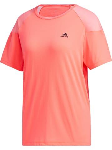 Adidas Koszulka sportowa w kolorze jaskraworóżowym