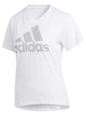 """Adidas Koszulka sportowa """"Batch of Sport"""" w kolorze białym"""