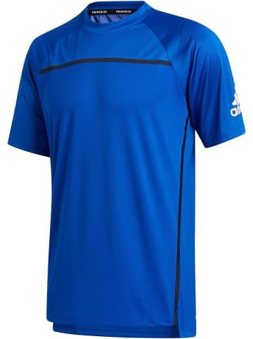 """Adidas Koszulka sportowa """"Primeblue"""" w kolorze niebieskim"""