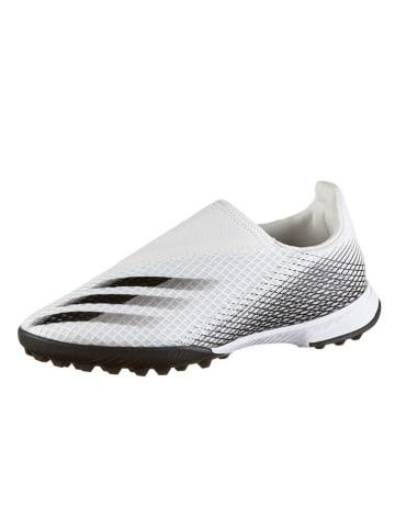 """Adidas Fußballschuhe """"X-Ghosted.3 TF"""" in Weiß/ Schwarz"""
