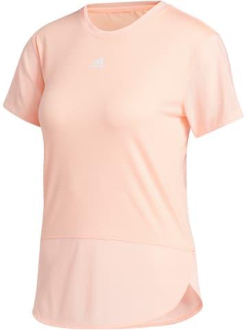 """Adidas Koszulka sportowa """"HEAT.READY"""" w kolorze jasnoróżowym"""