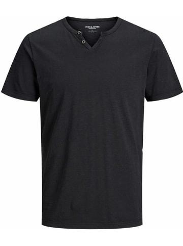 """Jack & Jones Koszulka """"Split"""" w kolorze czarnym"""