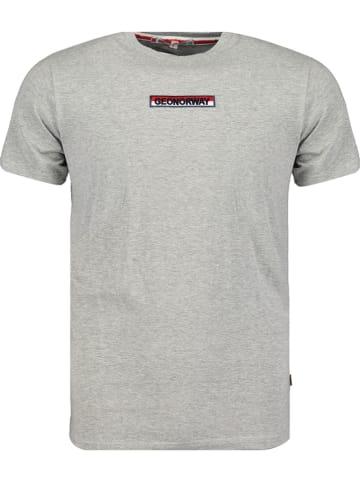 """Geographical Norway Koszulka """"Jarrett"""" w kolorze szarym"""