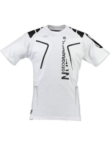 """Geographical Norway Koszulka """"Jangata"""" w kolorze białym"""