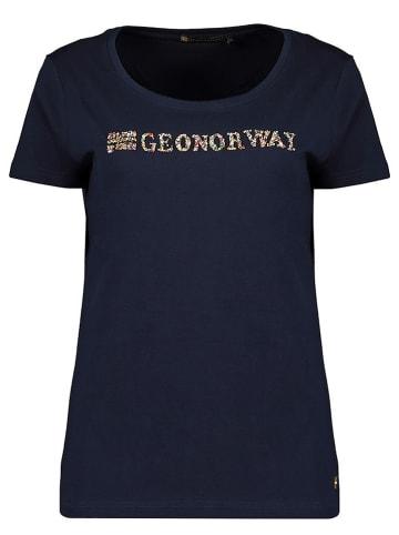 """Geographical Norway Koszulka """"Jefolly"""" w kolorze granatowym"""