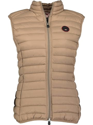 """Geographical Norway Bodywarmer """"Vafne"""" taupe"""