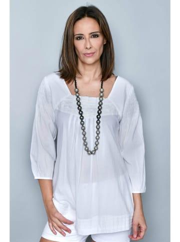 H.H.G. Bluzka w kolorze białym