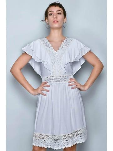 H.H.G. Kleid in Weiß
