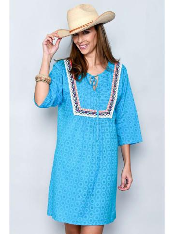 H.H.G. Sukienka w kolorze niebieskim