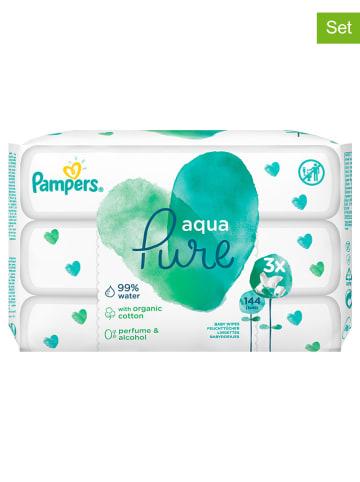 """Pampers Chusteczki nawilżające (144 szt.) """"Aqua Pure"""""""