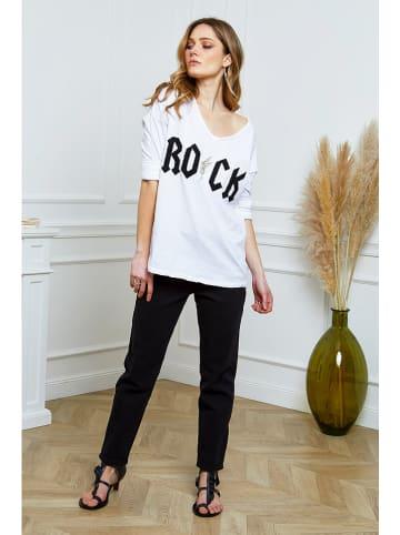 """Joséfine Shirt """"French"""" in Weiß"""