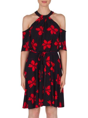 Joseph Ribkoff Sukienka w kolorze czarno-czerwonym