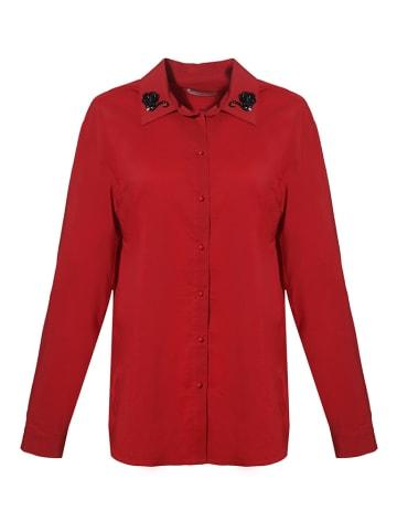 Tova Koszula w kolorze czerwonym