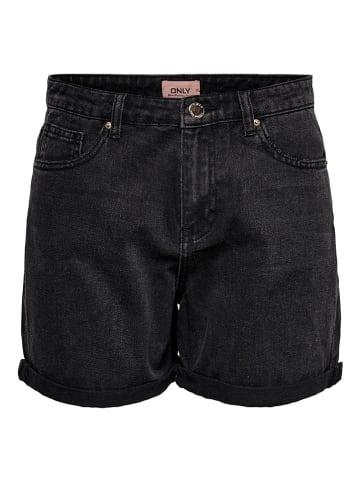 """ONLY Szorty dżinsowe """"Phine"""" w kolorze czarnym"""