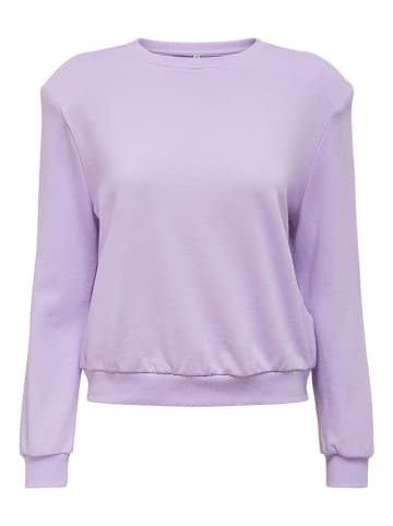 "ONLY Sweatshirt ""Rexa"" paars"
