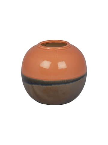 Eightmood Wazon w kolorze pomarańczowo-brązowym - (W)20,5 x Ø 23 cm