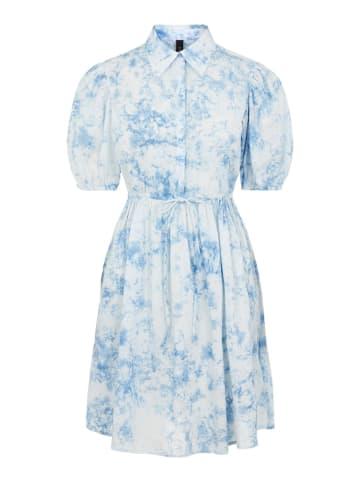 """Y.A.S Sukienka """"Yasocean"""" w kolorze błękitnym"""