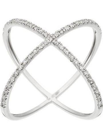 """DIAMANTA Witgouden ring """"La Magnifique"""" met diamanten"""