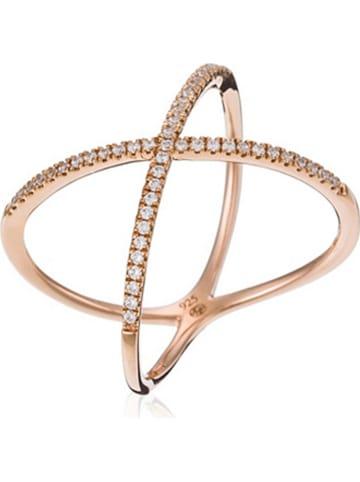 "DIAMANTA Roségouden ring ""Magnifica"" met diamanten"