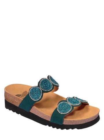 "Scholl Slippers ""Palmilla"" blauw"