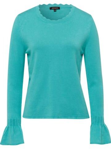 More & More Sweter w kolorze turkusowym