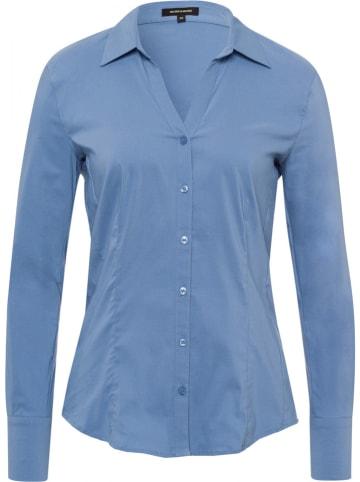 More & More Bluzka w kolorze błękitnym