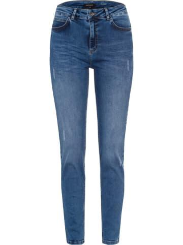 More & More Spijkerbroek blauw
