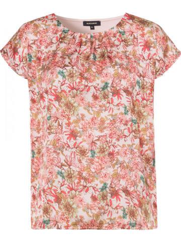 More & More Koszulka w kolorze jasnoróżowym ze wzorem