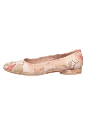 """Ecco Skórzane baleriny """"Anine"""" w kolorze jasnoróżowym"""
