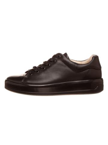 "Ecco Leder-Sneakers ""Soft 9"" in Schwarz"