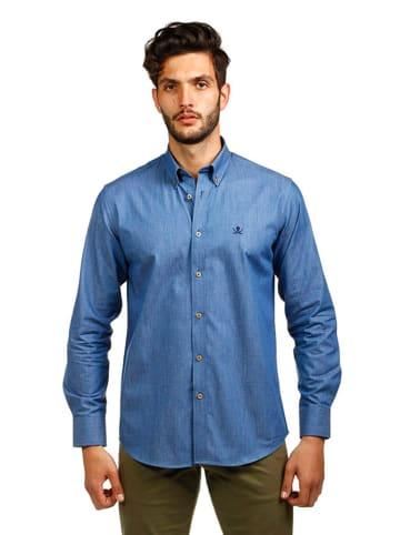 The Time of Bocha Koszula w kolorze niebieskim