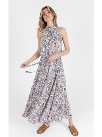 Zibi London Kleid in Blau/ Bunt