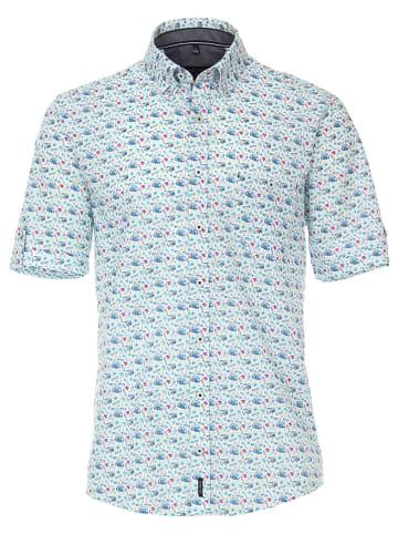 CASAMODA Koszula - Casual fit - w kolorze błękitnym