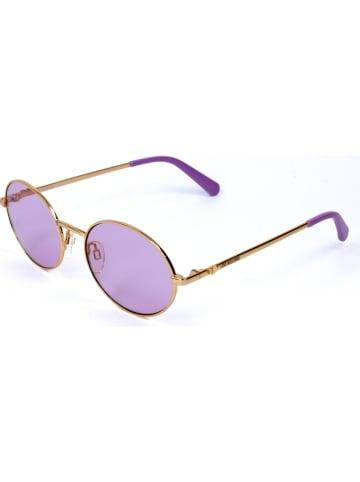Moschino Dameszonnebril goudkleurig/paars