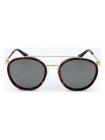 """Polaroid Okulary przeciwsłoneczne """"6032/S"""" w kolorze brązowym ze wzorem"""