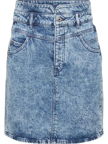 ESPRIT Spódnica dżinsowa w kolorze niebieskim