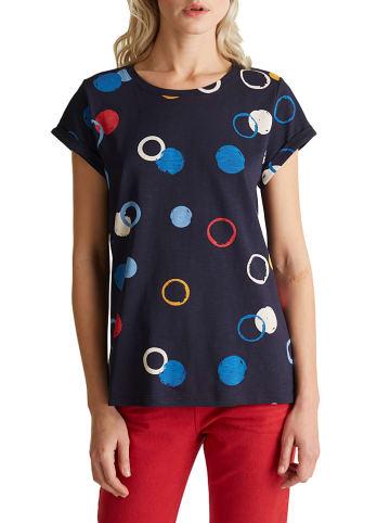 ESPRIT Koszulka w kolorze granatowym
