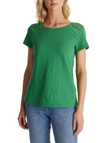 ESPRIT Koszulka w kolorze zielonym