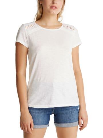ESPRIT Koszulka w kolorze białym