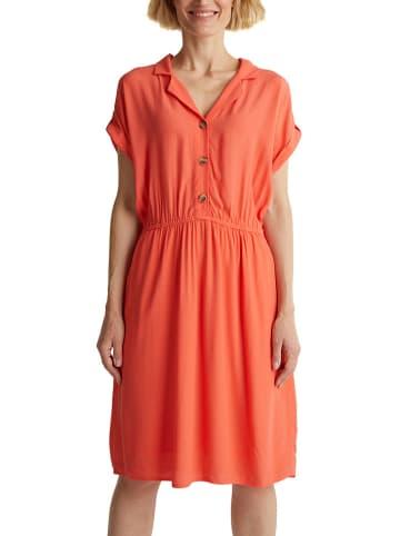 ESPRIT Sukienka w kolorze koralowym