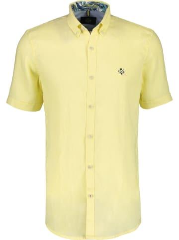 Lerros Lniana koszula w kolorze żółtym