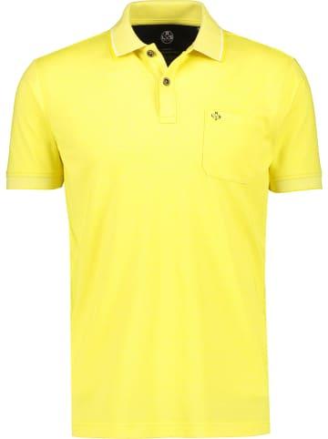 Lerros Poloshirt geel