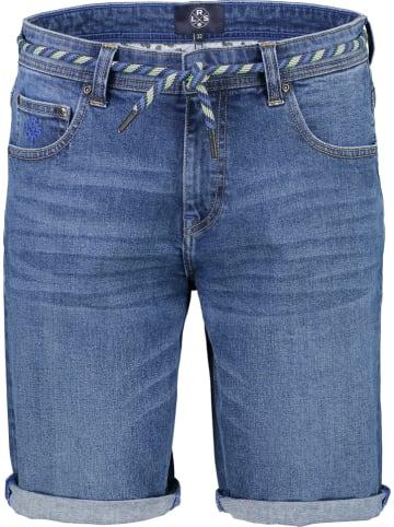 Lerros Bermudy dżinsowe w kolorze niebieskim
